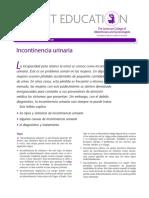 Incontinencia Urinaria f
