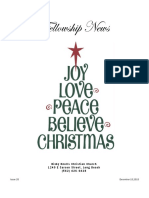 December 15, 2015 The Fellowship News