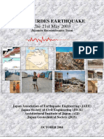 Boumerdes Earthquake