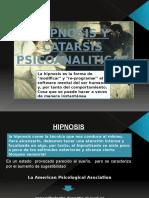 Hipnosis y Catarsis
