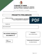progetto preliminare opere mitigazione