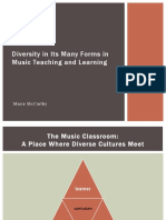 diversity in the music classroom