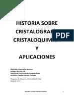 Historia de La Cristaloquimica
