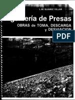 INGENIERIA de PRESAS, Obras de Tomas, Descargas y Desvios