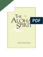 Aloha Spirit - Serge Sahili King