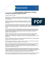 Gov. Snyder Signs Bills Eliminating Outdated Laws on Dueling, Cursing and Trampling Blackberry Bushes