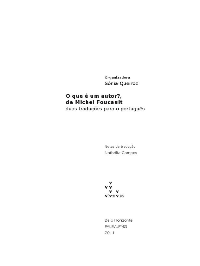 Foucault michel o que o autor stopboris Gallery