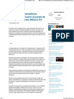 14-12-15 SCT Expone a Senadores Objetivos Del Nuevo Acuerdo de Transporte Aéreo México–EU