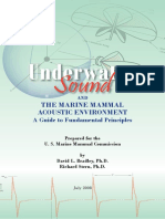 Underwater Sound and the Marine Mammal Acoustic Enviroment