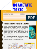 Fluoroacetate Toxic