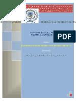 1° TRABAJO DE PROYECTOS
