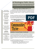 WWPL April 2010 Newsletter