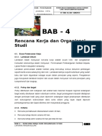 Bab-4 Rencana Kerja Dan Organisasi