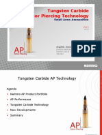 Tungsten Carbide Armor Piercing Bullet