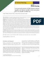 Stroke Patients Functions in Personal Activities