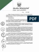 Cronograma de Concurso Para Ascender de La Primera a La Segunda Escala Magisterial