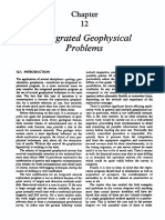 Chapter 12-Integrated Geophysical Problems