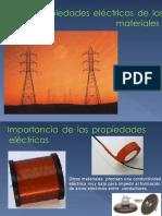 Propiedades electricas y magneticas