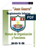 Reglamento Interno IESM-JG. 2014