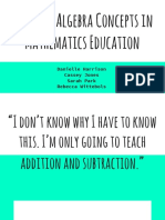 abstract algebra concepts in mathematics education copy