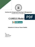 Camels Model of IDBI