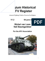 The Belgian Historical Afv Register