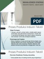Persentasi_Manajemen Energi_Manajemen Energi Industri Tekstil