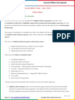 Current Affairs July PDF Capsule by AffairsCloud