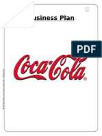 Coca-cola Business Plan