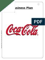 Coca-cola Business Plan