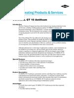 TDS Ucarsol GT-10 Antifoam