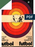 Lo Que Debe Saber de Futbol 1973