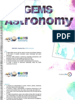 gems astronomy  information brochure