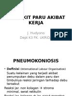 Toksikologi Industri & Pneumokoniosis Okt 15