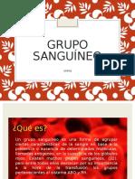 Grupo Sanguíneo