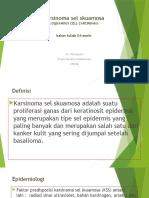 Karsinoma Sel Skuamosa (D4-Analis)
