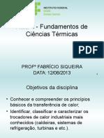 Características Da Água e Parametros de Analise.