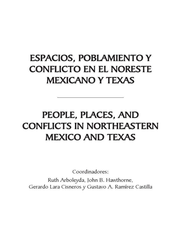 Y Conflictlo México 2009 Ne EspaciosPoblamiento kXwP8n0NO