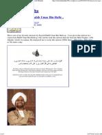 Salawat of Sayyidi Habib Um..