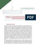 Correction-Thème 3121 – Un Scénario de Situation Complexe Pour Comprendre Les Raisons Qui Peuvent Influencer Les Décisions Des Entreprises Pour Contribuer Au Développement Durable
