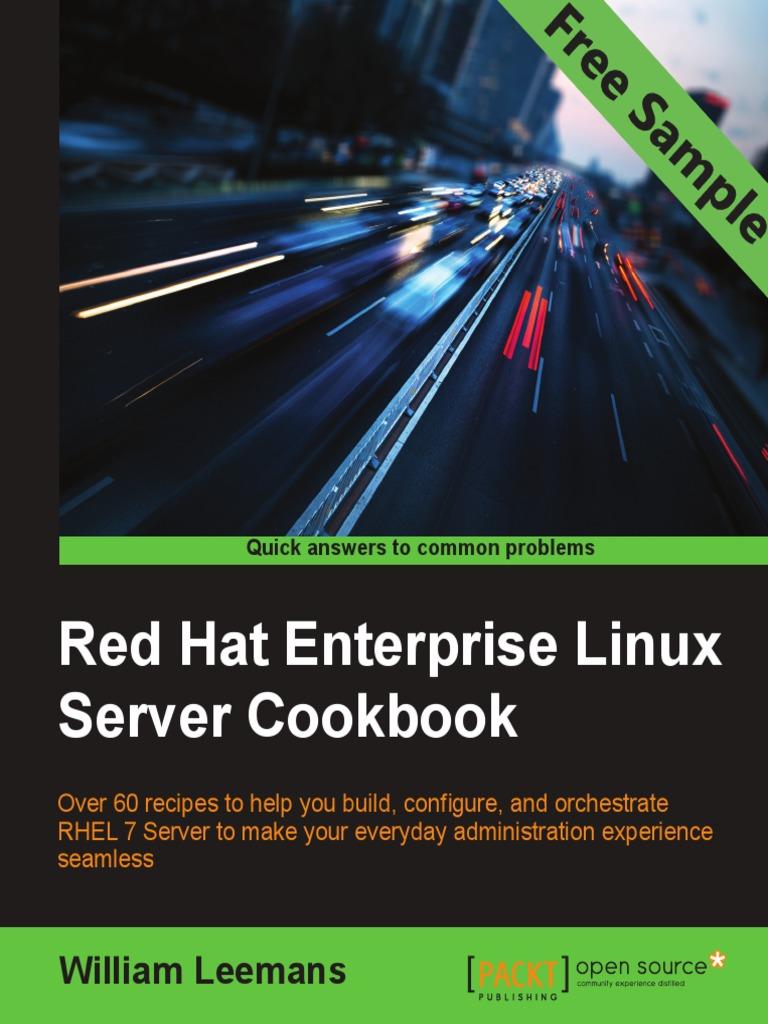 Red hat enterprise linux server cookbook sample chapter domain name system red hat