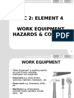IGC2 Element 4 Work Equipment