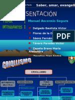 Manuel Ascencio Segura - CRIOLLISMO