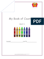 Number Colours Activity Book