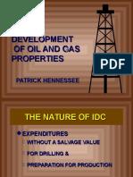 Development of Oil & Gas Properties