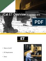 Customer Cat ET Overview