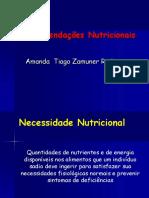 Recomendações Nutricionais