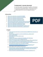 unit 58 assessment 1 sources document