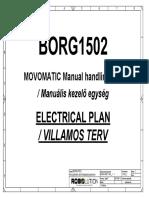 BORG1502 Villamos Terv Movomatic Manual
