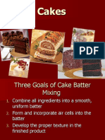 The Function of Cake